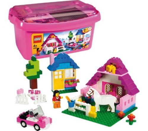 LEGO Velká růžová krabice