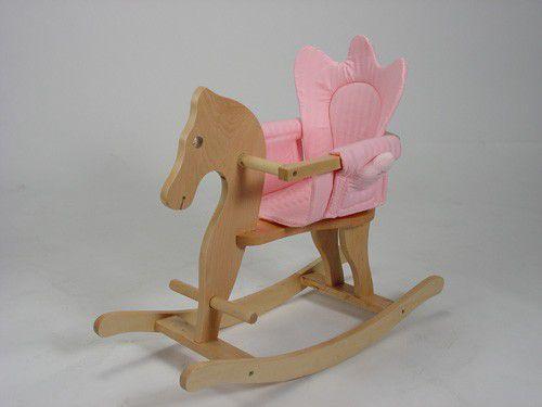 KNORRTOYS Dřevěný houpací koník FRIEDA!