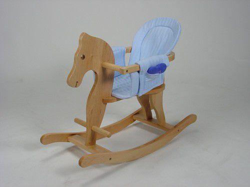 KNORRTOYS Dřevěný houpací koník PAUL!