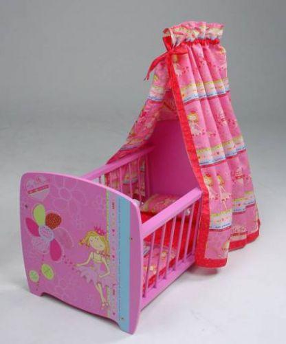 KNORRTOYS Postýlka pro panenky 04!