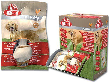 8in1 žvýkací kosti Delights XS (30ks) cena od 0,00 €