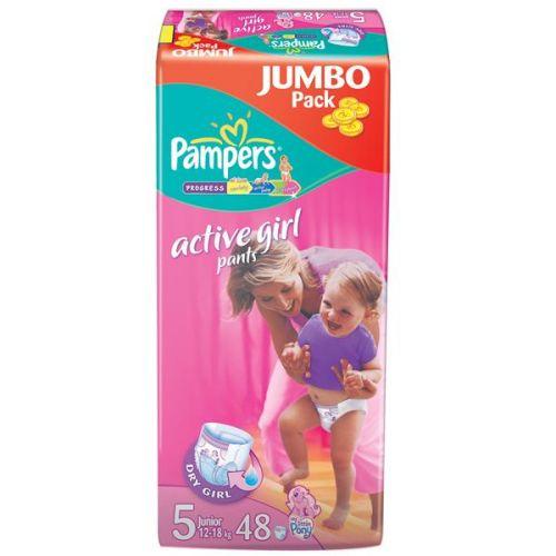 Pampers ActivePants Girl 5 Junior - 48 ks