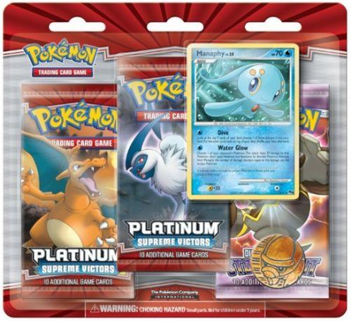 ADC Blackfire Pokémon POK:PLA Sup.Victors-3PackBlister
