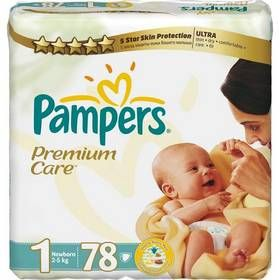 Pampers PremiumCare 1 Newborn - 78 ks