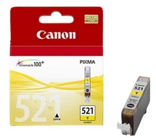 CANON CLI-521Y žlutý