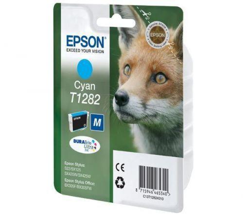 Atramentová nápln T1282 - azúrová pre Epson Stylus S22, SX125, SX420W, SX425W, pre Espon Stylus Office BX305F, BX305FW cena od 0,00 €