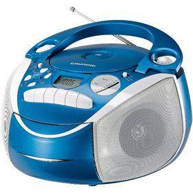 GRUNDIG RRCD 2700 MP3 Neos blue