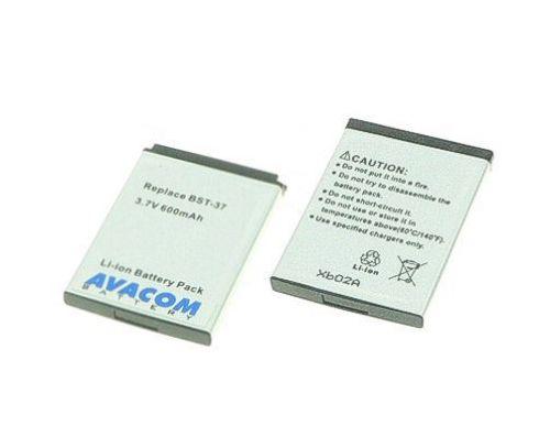 Avacom SONY Ericsson BST-37 Li-ion 600mAh K750i, W800i, K600i cena od 0,00 €