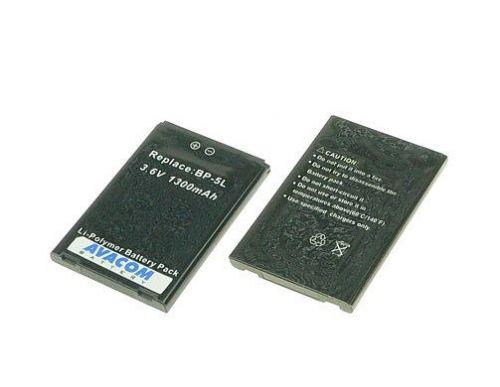 Avacom NOKIA BP-5L Li-pol 1300mAh, pro E62, E61, N92, 7700, 9500, N800 cena od 0,00 €