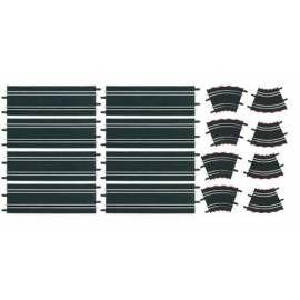 CARRERA 61614 Rozšiřující set 2004 černý