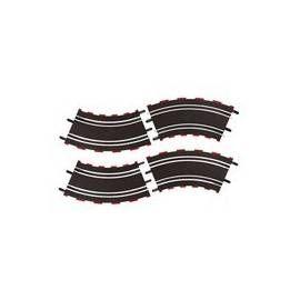 CARRERA 61617 Zatáčka 2/45° černá