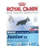 Royal Canin MAXI JUNIOR 15 + 3 kg ZDARMA