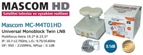 MASCOM MC M4-T01HD Twin