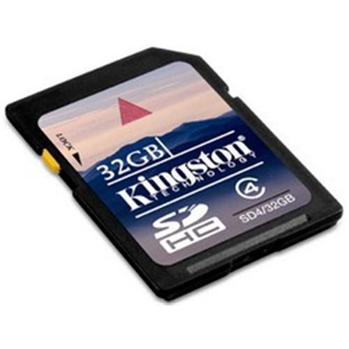 KINGSTON SD HC 32GB, Class 4
