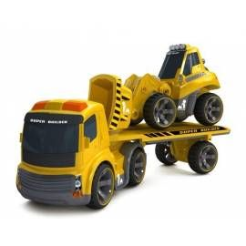 SILVERLIT 81118 Trailer Truck Plus Bulldozer