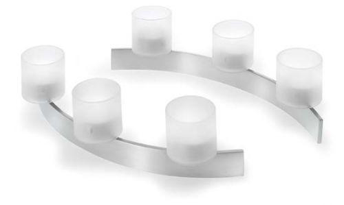 Blomus Tiseo - Set 2 svícnů na čajovou svíčku 65056