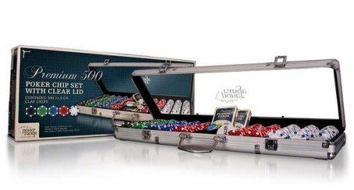 POKERRANGE Premium 500 x 11,5g set v hliníkovém kufříku