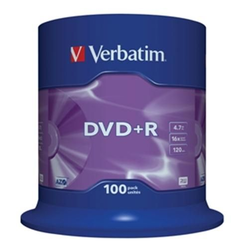 Verbatim DVD-R 16x 100ks cakebox