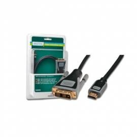 DIGITUS HDMI/A to DVI-D Single link, gold AWG30, 3m, blister