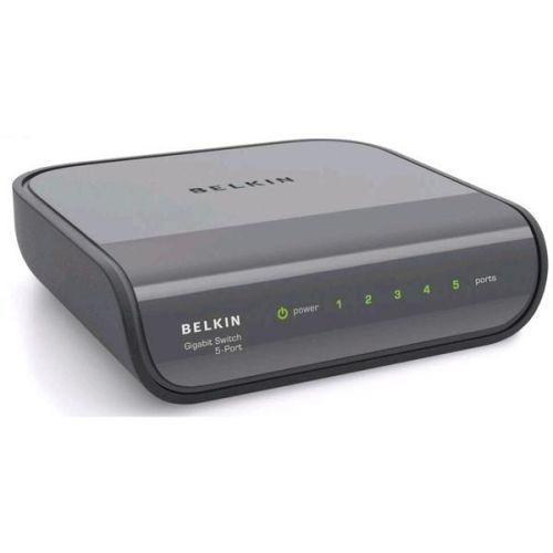 Router Belkin Ethernet Switch 10/100/1000Mbps - 5 portů cena od 0,00 €