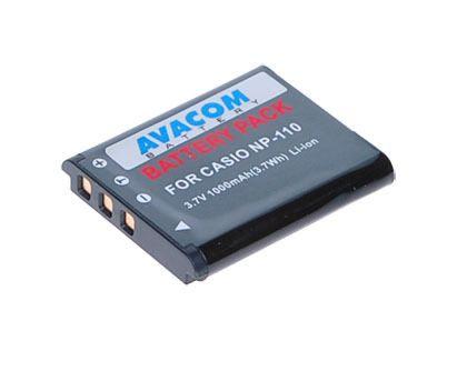 Avacom AKU Casio NP-110 Li-ion 3.6V 1200mAh 4.3Wh cena od 0,00 €