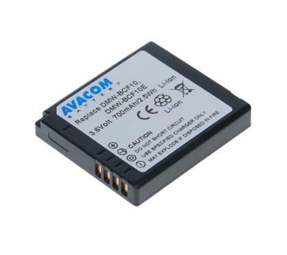 Avacom AKU Panasonic CGA-S106E, DMW-BCF10 Li-ion 3.6V 770mAh cena od 0,00 €