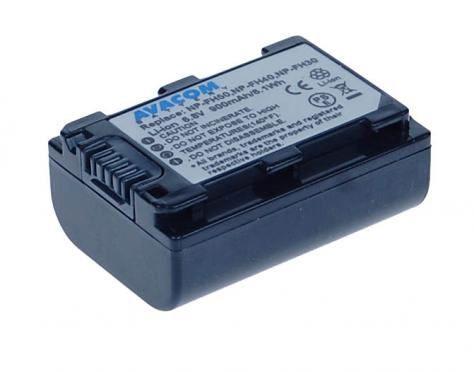 Avacom AKU Sony NP-FH30, FH40, FH50 Li-ion 6.8V 900 mAh 6.1Wh