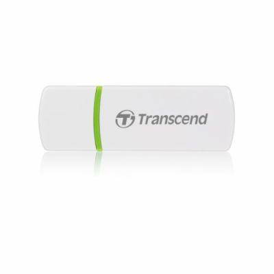 TRANSCEND bílá - SD, SDHC, MMC, MMCplus, MMCmobile