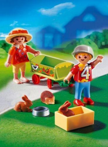 Playmobil 4349 Vozík pro zvířátka