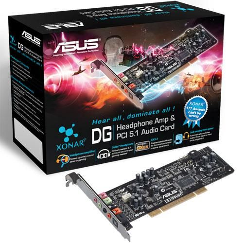 Asus XONAR DG PCI 5.1 cena od 30,90 €