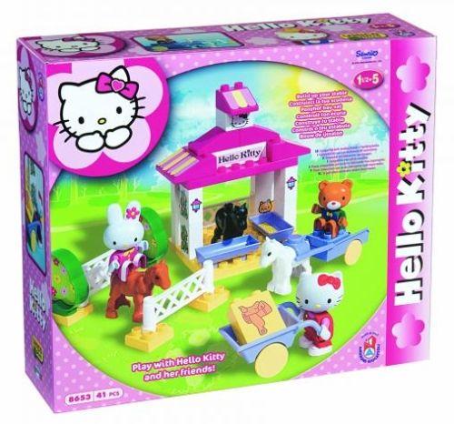 ANDRONI Stavebnice Hello Kitty stáj s koníky