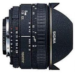 Sigma 15mm F2.8 EX DG FISHEYE Canon