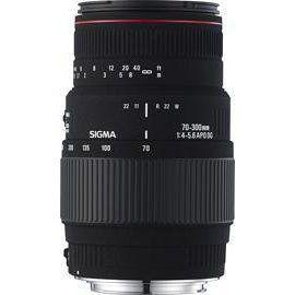 Sigma 70-300mm F4-5.6 APO DG MACRO Nikon