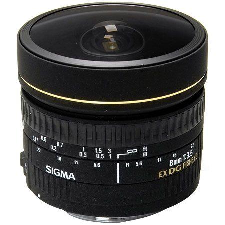Sigma 8mm F3.5 EX DG CIRCULAR FISHEYE Canon