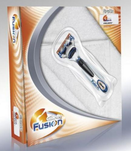 Gillette Fusion Manual Cool White (7702018073535) cena od 0,00 €