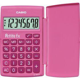 CASIO LC 401 LV/ PK pink petite FX