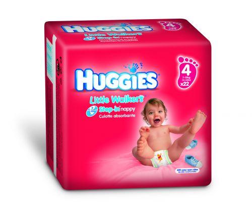 Huggies Little Walkers 4 - 22 ks