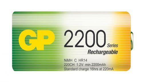 GP C 2200 mAh Ni-MH (R14)