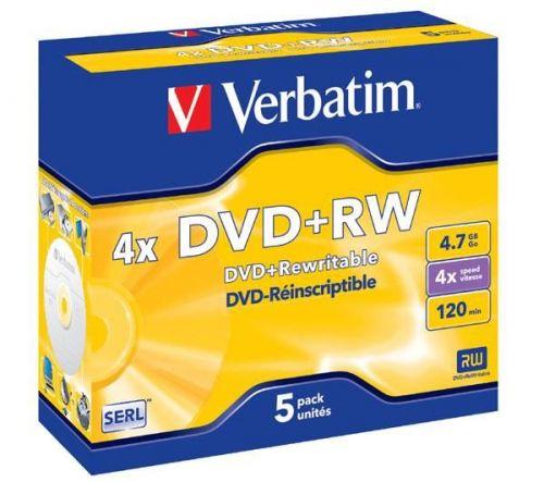 VERBATIM 4.7GB 4x jewel box 5ks cena od 5,88 €