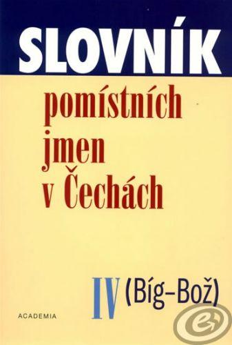 Academia Slovník pomístních jmen v Čechách IV cena od 6,47 €