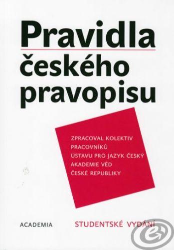 Academia Pravidla českého pravopisu (AV ČR) cena od 0,00 €