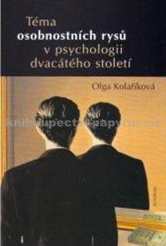 Academia Téma osobnostních rysů v psychologii dvacátého sto cena od 0,00 €