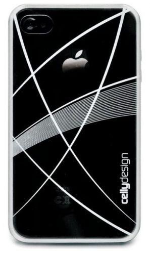 CELLY ochranný zadní kryt - iPhone 4, bílá s dekorací cena od 0,00 €