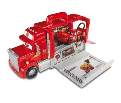 SMOBY Mack nákladní auto Smoby Cars 45 cm stříbrné červené