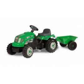 SMOBY Šlapací traktor Smoby GM Bull s vlekem zelený zelený