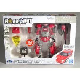 MAC TOYS Robot Ford GT 1:32 červený