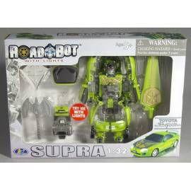 MAC TOYS Robot Toyota Supra 1:32 zelený