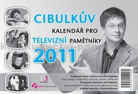 Česká televize Cibulkův kalendář pro televizní pamětníky 2011 - s cena od 0,00 €