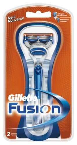 Gillette Fusion strojek + 2 hlavice cena od 0,00 €
