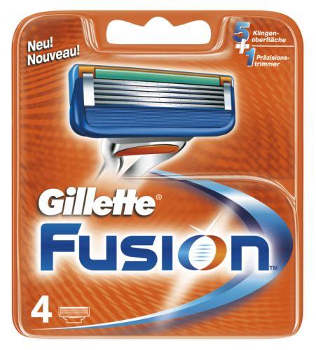 Gillette Gillette Fusion náhradné hlavice 4 ks cena od 0,00 €